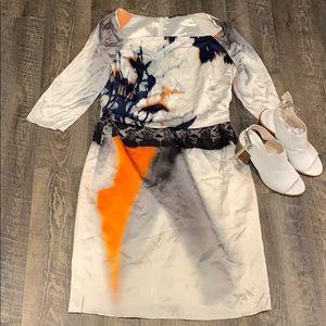 Elie Tahari tie dye dress size 8